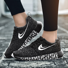 New Mesh cross-country large size ultra light flying woven mesh sneakers couple non-slip breathable casual running shoes Tenis F цена в Москве и Питере