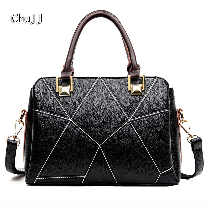 High Quality Women's Genuine Leather Handbags Luxury Women Bags Women Messenger Bags Shoulder Bag Ladies luxury handbags women bags designer messenger chain bag genuine leather cover vintage flap patchwork ladies high quality purses