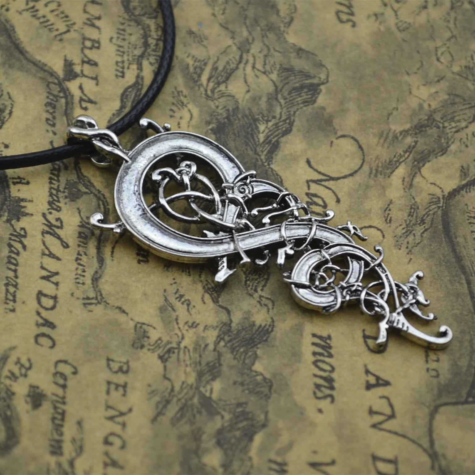 Dependable Men Viking Dragon Sekira Legendary Aegishjalmur Amulet Nordic Talisman Pegan Pendant Necklace Silver Chain Jewelry & Accessories Chain Necklaces