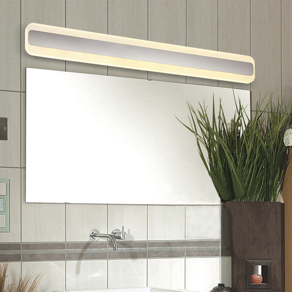 [DBF]Modern Style LED Mirror Light 14W/16W 220V Bathroom Light Wall Mounted LED Bathroom Lighting Waterproof Anti-Fog Wall Lamp