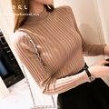 DRL Бренд 2017Women's утолщение свитер тонкий tight рубашки основной пуловеры свитер женский