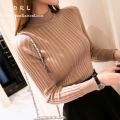 DRL Brand 2017Women's thickening turtleneck sweater slim tight shirt basic pullover sweater female