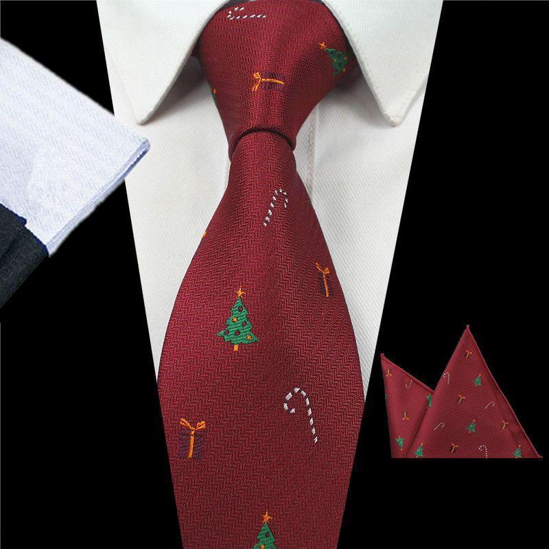 GUSLESON Nieuwe Ontwerp Dier Tie Set Voor Mode Mannen Kwaliteit Zijde Tie Hanky Kerst Stropdas Jacquard Geweven Slim Tie Voor bruiloft