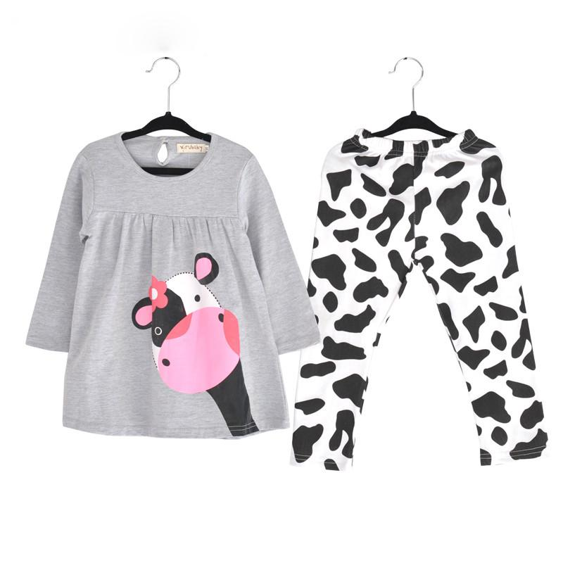 2017 new spring autumn baby girl clothes casual long for Newborn girl t shirts