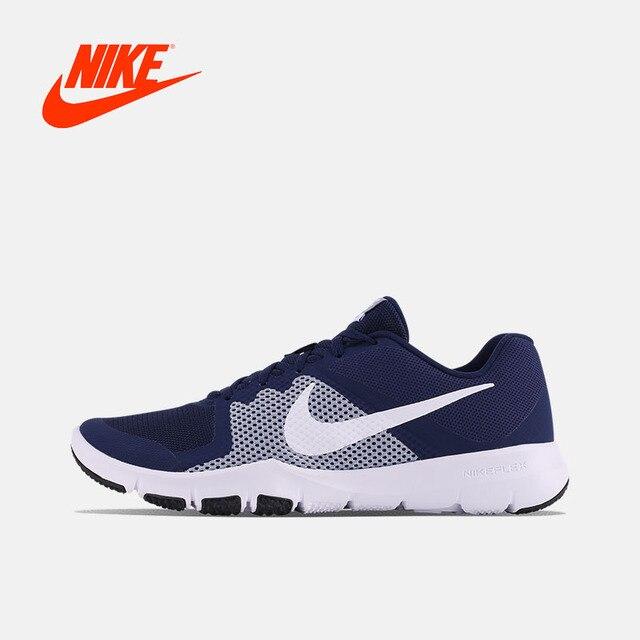 Оригинальный Новое поступление Аутентичные Nike Flex управления мужские кроссовки Спортивная обувь прогулочная бег Спортивная обувь удобная быстрая