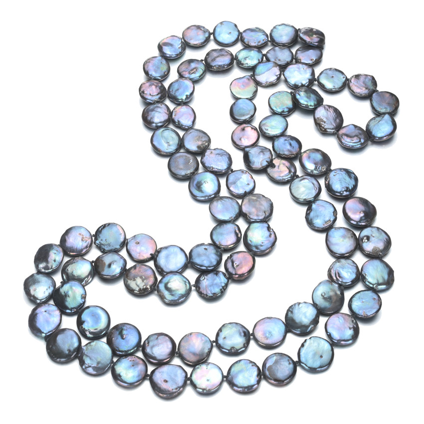 SNH 12mm peacock blue color AA 36