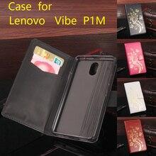 Золото блестка блесток силиконовые кожаный чехол для Lenovo Vibe P1M откидная крышка Lenovo Vibe P1 кошелек охватывает телефон случаях