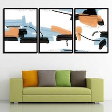 Minimalism Abstract Colorful Graffiti Line Painting Home Decor Canvas Print Pictures Study Nordic A4 Poster Living Room Wall Art(China)