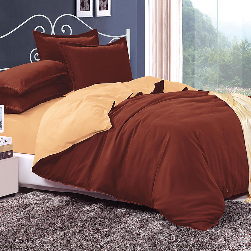 BELLIHOME Home Textile High-quality Bed Linen Sets 4/6PCS Brief Soft Adult Children Bright Color Bedding Set Duvet Cover Sets