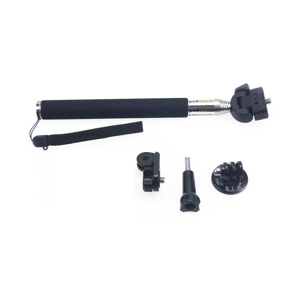 retractable self selfie stick handheld monopod screw 1 4 tripod mount adapter converter for. Black Bedroom Furniture Sets. Home Design Ideas