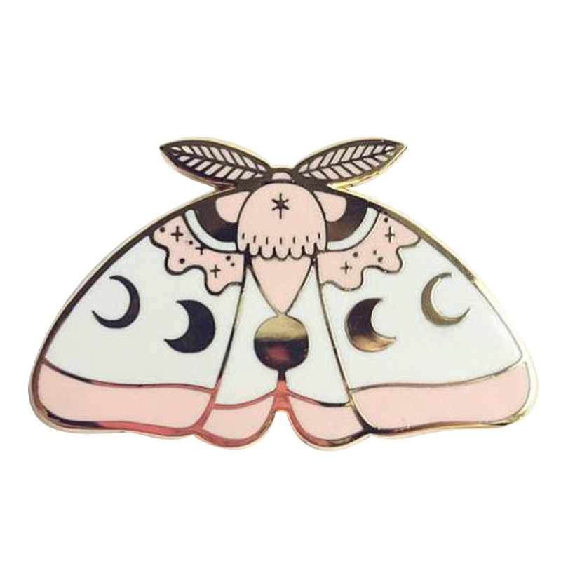 moon moth pin