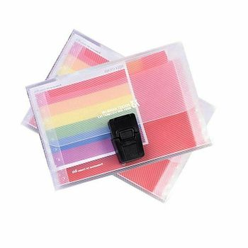2 Styles A6 Plastic 13 Pockets Expanding File Folder Office Organizer Document Holder File Case Document Box Stationery Boxes 6