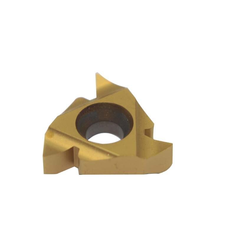 20PCS 16IR G55 LDC CVD PVD internal thread turning tool CNC lathe blade cutting tool tungsten