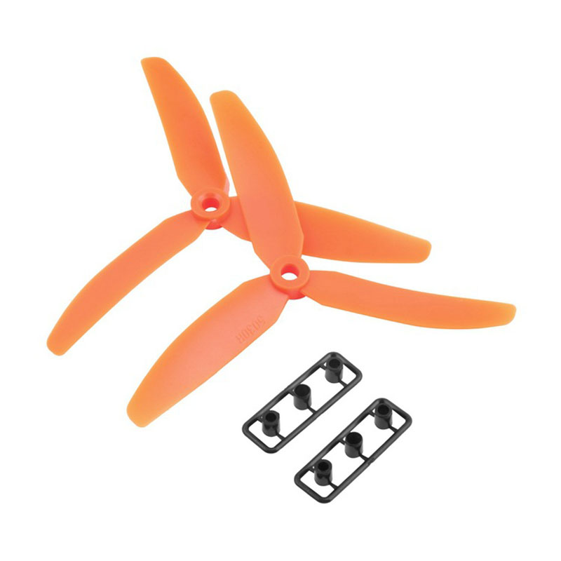 1 Pair 5x3 5030 3-Leaf Propeller CW/CCW For 250 Frame Kit Mini Quadcopter Propeller Mini Drone RC toy accessories