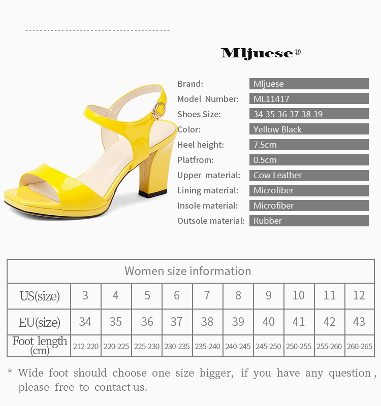 1823e0e14c682 MLJUESE 2018 women sandals cow leather yellow color Gladiator ankle ...