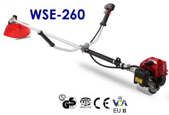 Factory Direct Supply! WSE-260 2 Stroke 25.4CC Brush Cutter/Grass Trimmer with CE and Low Price shuttering preferred class of abrasive blade cutter factory direct piece ap1604pderp jl76
