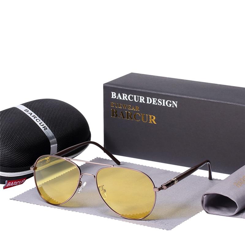 BARCUR xhami dielli markë Me kuti pa syze dielli polarizues burra - Aksesorë veshjesh - Foto 5
