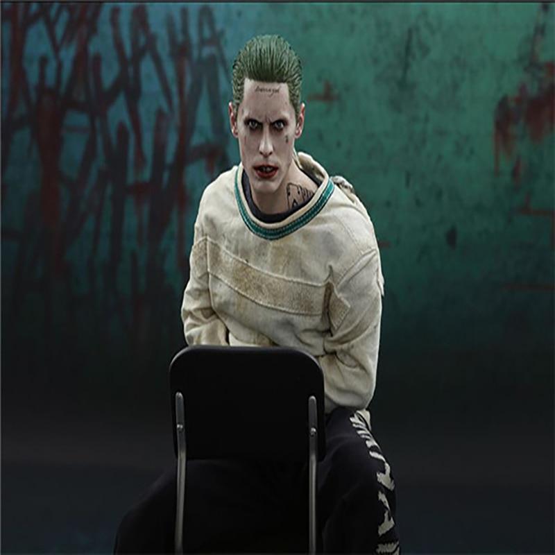Jouets chauds film DC Suicide Squad Joker dans l'hôpital psychiatrique Arkham asile Version figurine d'action modèle à collectionner jouets
