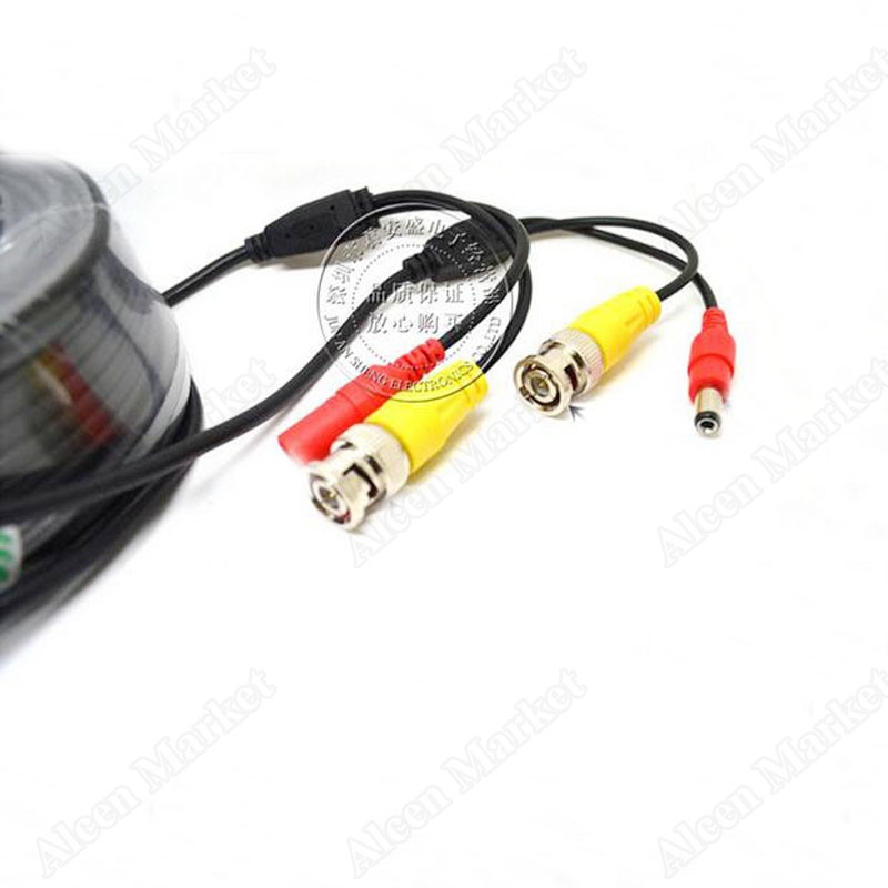 18m Camera Monitor Connector Cable Power Video Integrated Coprehensive Wire Extended Cord