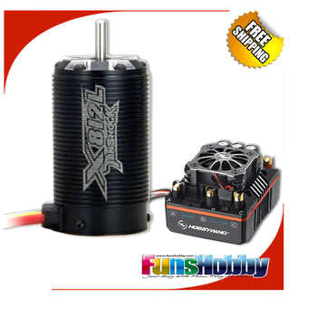 RC 1/8 Off Road Super Permium Power Combo INCL.Tenshock X812L Sensor Motor&Hobbywing XERUN XR8 PLUS ESC for Buggy Competition - DISCOUNT ITEM  0% OFF All Category