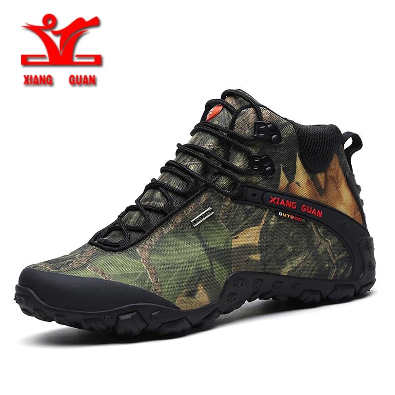 XIANGGUAN Men Outdoor Shoes hiking boots Waterproof Breathable Hiking Shoes For Women Climbing Outdoor Trekking Sneakers