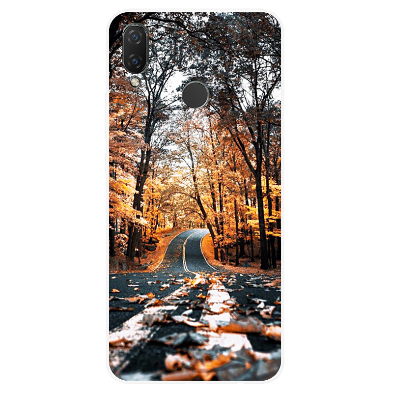Image 4 - silicone case for huawei Nova 3 3i 3e case soft TPU cover for Nova3 nova3i INE LX2 INE LX9 funda Back cover protective Coque-in Fitted Cases from Cellphones & Telecommunications