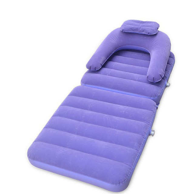 inflatable camping chair bungee papasan multifunctional fast air sofa sleeping bag lazy lay laybag lounger bed