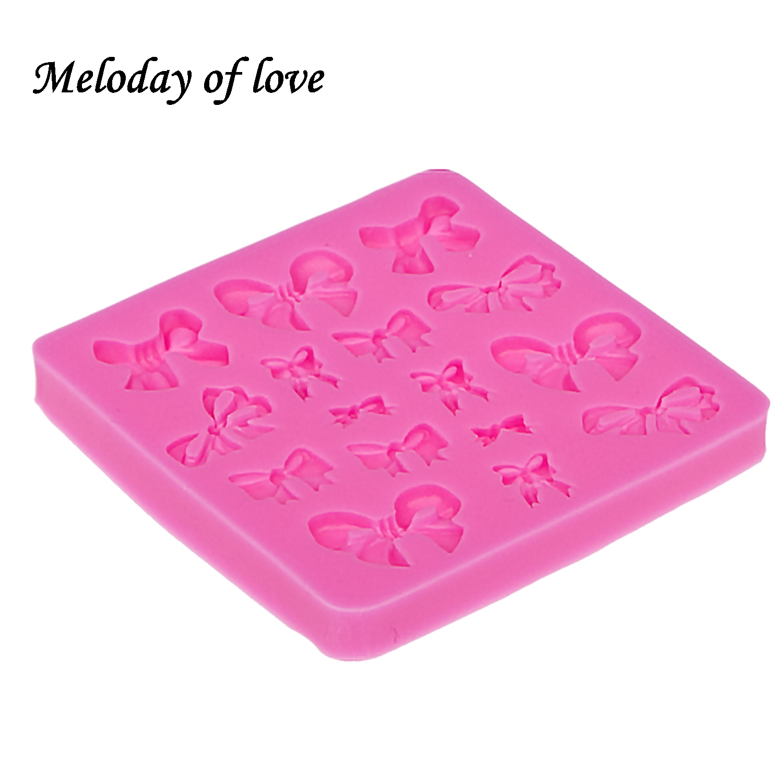 Mnogi mini lukovi luk-čvor oblik silikon plijesni 3d rozeta fondant - Kuhinja, blagovaonica i bar - Foto 5