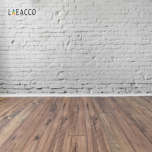 Image 3 - Laeacco Brick Wall Wooden Floor Photophone Photocall Grunge Portrait Baby Newborn Photography Backdrops Photo Backgrounds Props