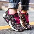woman 2016 casual shoes autumn camouflage platform shoes KJ449