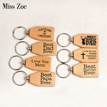 Best Family Ever keychain Mom Dad Nana Gigi Mimi Papa Grandma Girlfriend Boyfriend Love you more Key Chain Jewelry Gift