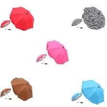 Kids Sun Umbrella Baby Folding Sun Shelter Outdoor Parasol Pushchair Covers Baby Stroller Accessory SunProof Rainproof Umbrella(China)