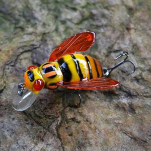 Image 4 - 2016 High Quality Freshwater Japan Insects Fishing Lure Carp Bait Wobbler 3D eyes luz Pesca Crankbait Leurre Peche 45mm 6g