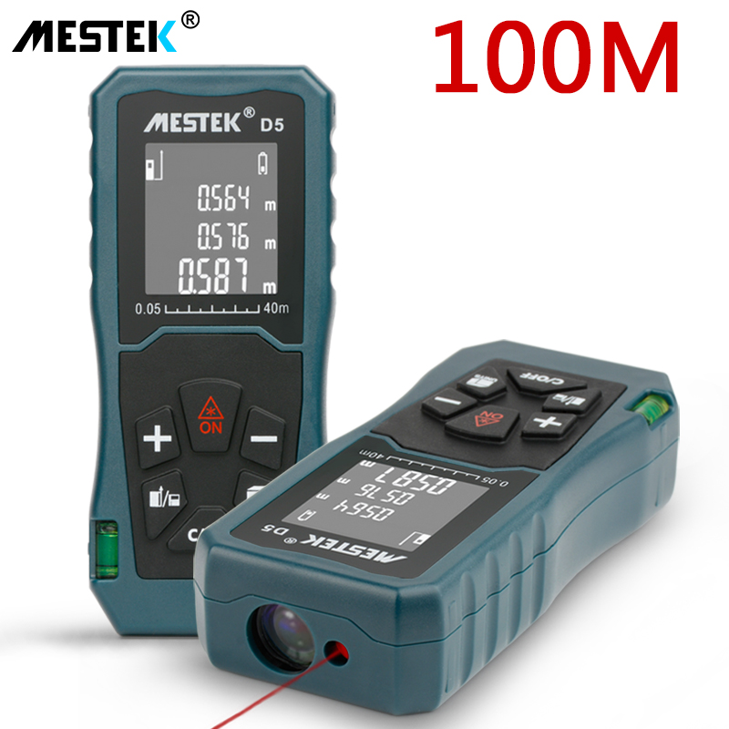Medidor de distância a laser 40 m/60 m/100 m laser telêmetro medidor trena laser fita de medida telêmetro a laser range finder
