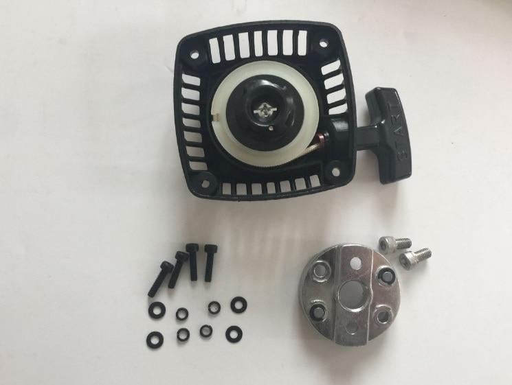 Easy start Pull Starter whit Metal claw For 32-36CC Zenoah CY ROVAN engine for 1/5 HPI Baja 5B 5T 5SC cnc roto start baja 1 5 cnc aluminum roto start starter for 26cc 29cc engine cy zenoah engine for 1 5 hpi baja 5b km