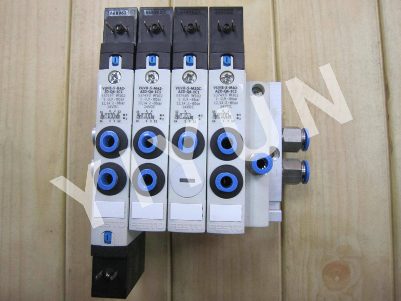VUVB-S-M42-AZD-Q6-1C1 537493 VUVB-L-M42-AZD-Q8-1C1 537481 VUVB-S-M42-AZD-Q4-1C1 537492 FESTO Solenoid valve Pneumatic components