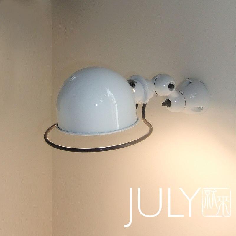 promotion american vintage wall lamplighting designer rh style bedroom lampblack iron shade