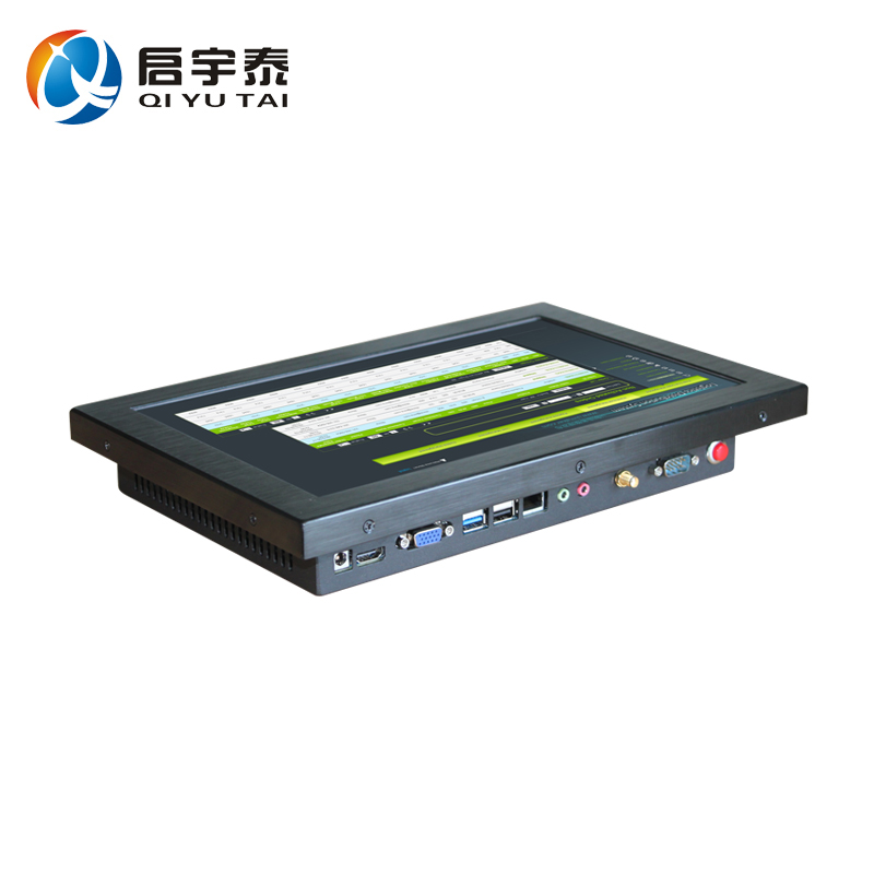 12 embedded computer Resistive touch wide screen Resolution 1280x800 4gb ddr3 32g ssd industrial PC with