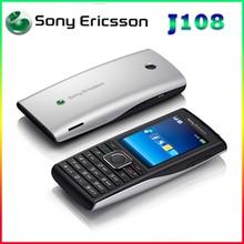 J108 Sony Ericsson débloqué j108i cellulaire téléphone Mp3 Mp4 Musique 3G téléphones 2 5mpcamera garantie