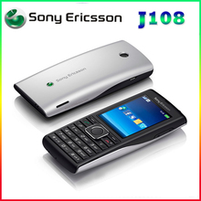 J108 Sony Ericsson unlocked j108i cell phone Mp3 Mp4 Music 3G phones 2MPcamera warranty
