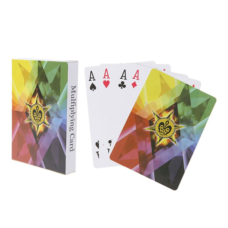 OOTDTY Professional Magic Playing Card Magician Props Night Club Bar Party Poker Cards