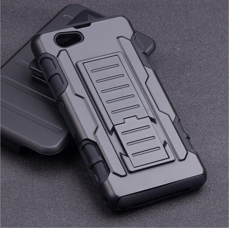 Cas Pour Sony Xperia Z1 Compact Mini D5503 M51W Robuste Hybride armure Impact Dur Cas Pour Z1 Mini 4.3 Pouce Cas Couverture