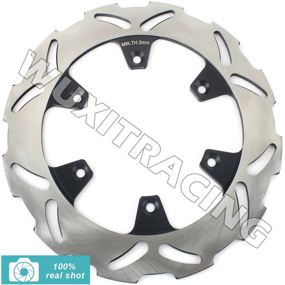 Rear Brake Disc Disk Rotor for KX 125 250 500 89 90 91 92 93 94 95 96 97 98 99 00 01 02 03 04 KDX200 89-94 KLX 650 B1- 96 New rear brake disc rotor for suzuki dr 650 se 96 12 k1 k2 k3 k4 k5 k6 k7 k8 k9 xf 650 freewind 97 98 99 00 01 02 03