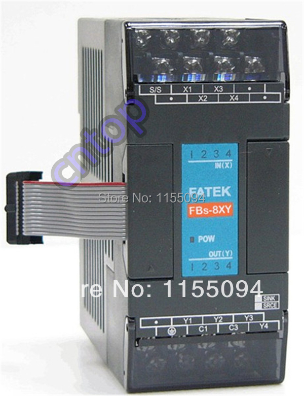 FBs-8XYR-AC Fatek PLC AC220V 4 DO 4 DO relay Module New in box new and original fbs cb2 fbs cb5 fatek communication board