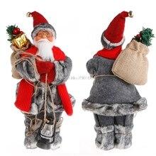 Новогодние товары Санта Клаус игрушки куклы Новогодние товары Дерево Украшения изысканные украшения для дома Xmas счастливая подарок на Новый год #081025 #