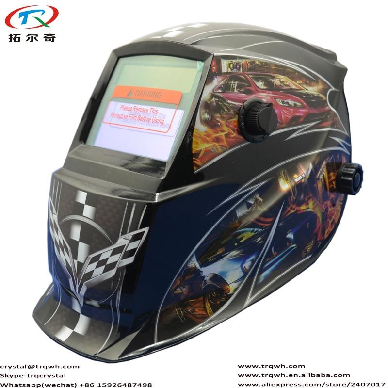 UV/IR Protection DIN16 Lithium Battery Replace 2pcs CR2032 EN379 Tig Pro Welding Helmet Auto Darkening Welder Cap Electric Parts