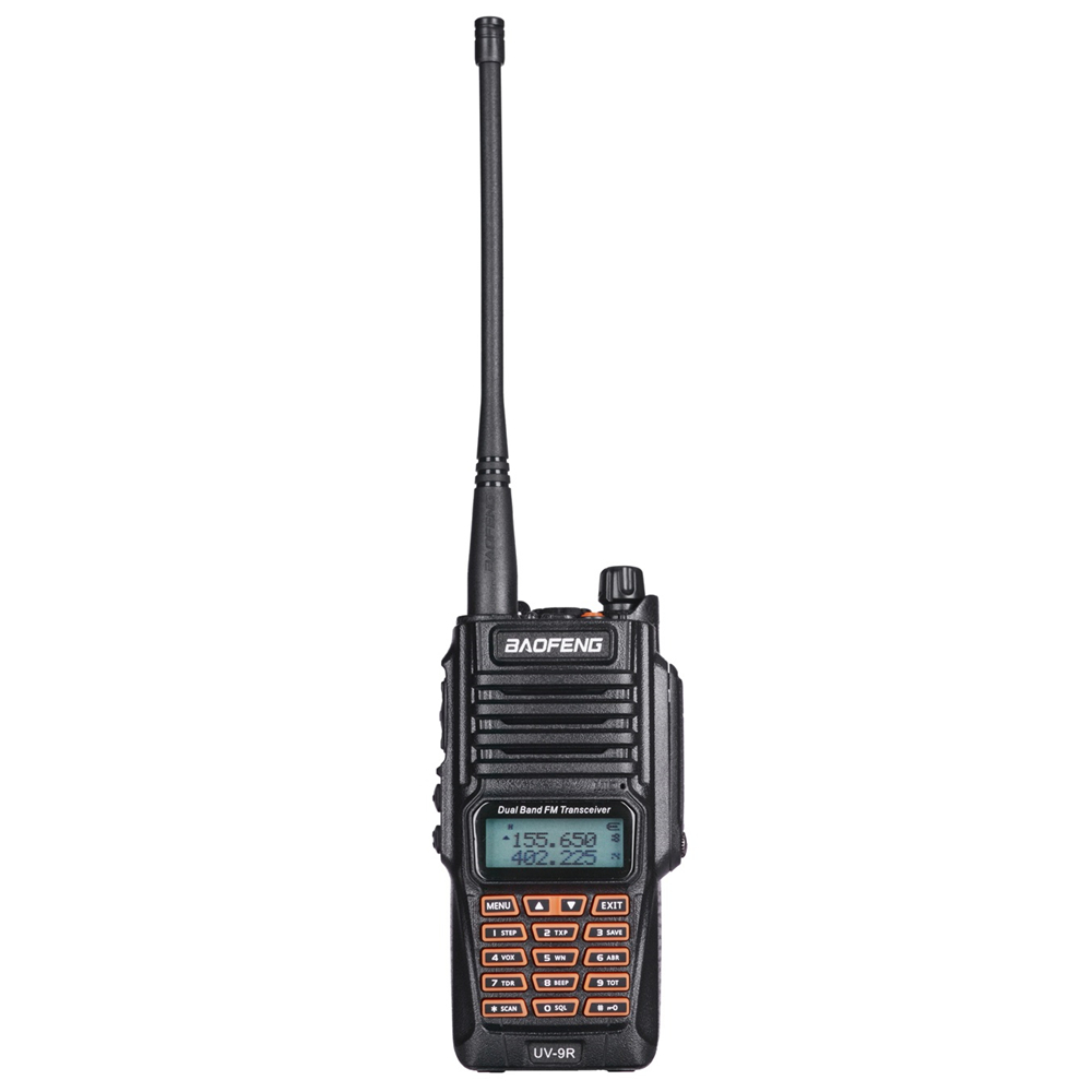 Image 2 - 2pcs Original Baofeng UV 9R Walkie Talkie Portable IP67 Waterproof Amateur Radio Uhf Vhf UV 9R Woki Toki Hunting CB Radio UV 9R-in Walkie Talkie from Cellphones & Telecommunications