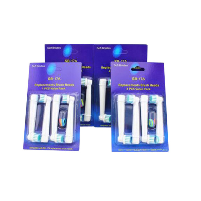 Aliexpress com : Buy 4PCS Replacement Brush Heads For Oral B Electric  Toothbrush from Reliable head electric toothbrush suppliers on YAKE Healthy