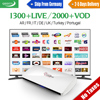 Leadcool Arabic IPTV Box 1 Year QHDTV IPTV Subscription Europe Channels IPTV Box French Netherlands UK Smart Android TV Top Box