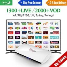 Leadcool арабский iptv поле 1 год qhdtv подписки IPTV Европа каналов IPTV French Нидерланды Великобритании Smart Android TV Топ коробка